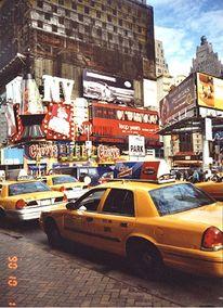 Taxidriver, New york, Fotografie, Reiseimpressionen