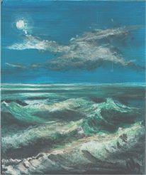 Marinemalerei, Schwerinersee, Wasser, Essen