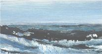 Friesland, Marinemalerei, Nordsee, Meerblick