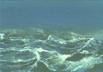 Meerblick, Marinemalerei, Friesland, Nordsee