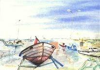 Marinemalerei, Baldeneysee, Ozean, Segelwochen