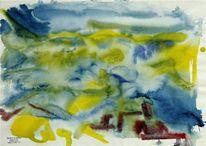 Aquarellmalerei, Suannegottschalk, Schweden, Willigottschalk