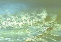Wasser, Essen, Meer, Marinemalerei