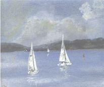 Marinemalerei, Maritim, Ostsee, Ozean