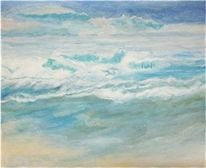 Marinemalerei, Meer, Wasser, Ozean