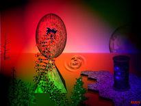 Digitale kunst, Surreal, Menschen
