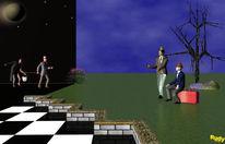 Menschen, Reise, Theater, Baum