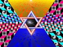 Grafik, Abstrakt, Mandala