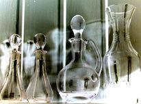 Transparenz, Flasche, Geist, Digitale kunst