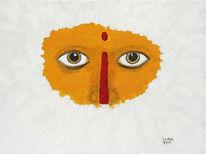 Augen, Modern, Spirituell, Abstrakt