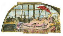 Arm, Pariserin, Dichter, Malerei