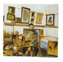 Auerbach, Zeigen, Atelier, Zeichnungen