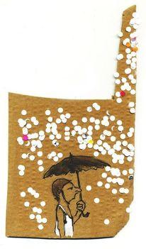 Unerträglich, Glück, Schirm, Schutz