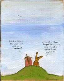 Gespräch, Antriebsschwäche, Hirsch, Hass
