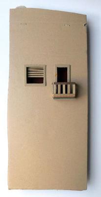 Mauer, Balkon, Fenster, Haus