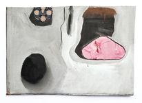 Zeichen, Rosa, Harry schlüther, Malerei