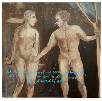 Luft, Adam und eva, Gesund, Zeichnungen