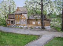 Malerei, Villa