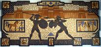 Ilias, Mosaik, Troja, Homers