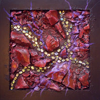 Paua, Collage, Mosaik, Kunsthandwerk
