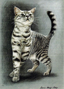 Tiermalerei, Portrait, Auftragsmalerei, Malerei