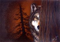 Malerei, Tiermalerei, Portrait, Portraitkunst