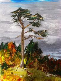 Natur, Malerei, Herbst