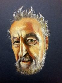 Portrait, Realismus, Gesicht, Malerei