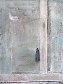 Acrylmalerei, Iran, Burka, Islam