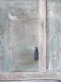 Feder, Verhüllen, Frau, Iran