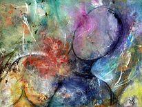 Acrylmalerei, Mythos, Mars, Bunt