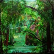 Licht, Wald, Stille, Gegenlicht
