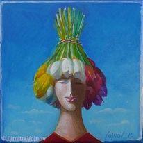 Aktion, Sold verkauft, Acrylmalerei, Malerei