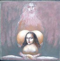 Erotik, Leonardo da vinci, Mona lisa, Malpause