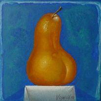 Malerei, Figural, Birne