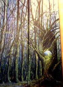 Ölmalerei, Malerei, Surreal, Zeit