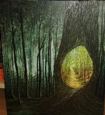 Kleine malschule, Hainich, Ölmalerei, Malerei