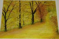 Ölmalerei, Malerei, Jahreszeiten