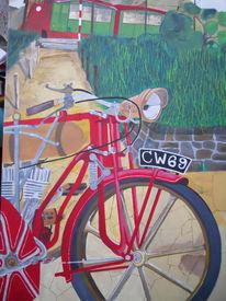 Malerei, Motorrad