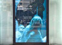 Betrachtung, Transparenz, Zugang, Blau