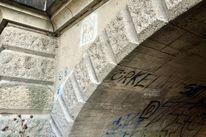 Graffiti, Multikulti, Wandzeichen, Brücke