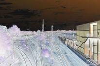 Industrie, Braun, Bahnhof, Apokalypse