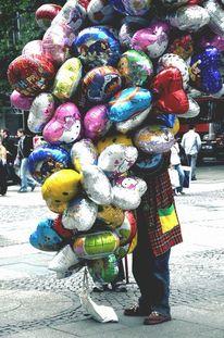 Lustig, Bunt, Betrachtung, Ballon