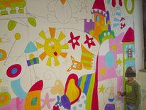 Wandmalerei, Malerei, Entstehung,