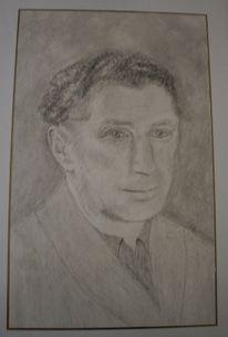 Zeichnungen, Portrait, Vater