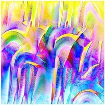 Digital abstrakt, Digitale kunst, Malerei, Abstrakt
