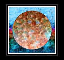 Rund, Abstrakt, Digital, Digitale kunst