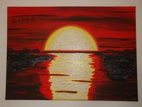 Pinnwand, Sonnenuntergang
