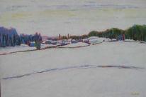 Schweiz, Winter, Hardern, Ölmalerei