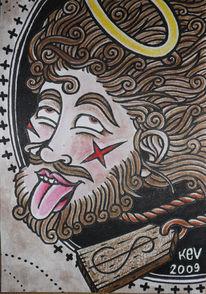 Religion, Jesus, Geld, Zeichnungen